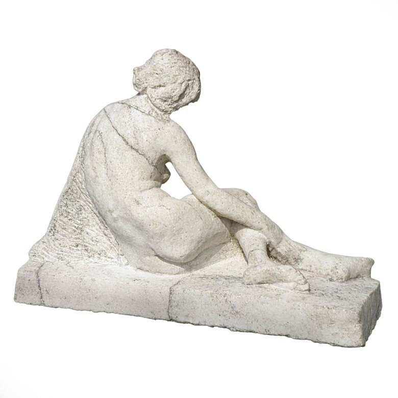19th century marble statue