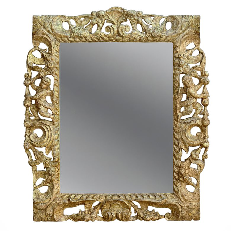 Antique English 17th century frame