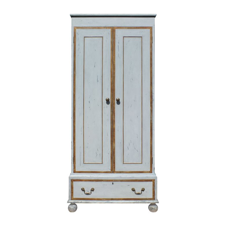 Painted and Gilt Wardrobe. Made to order by Perceval Designs