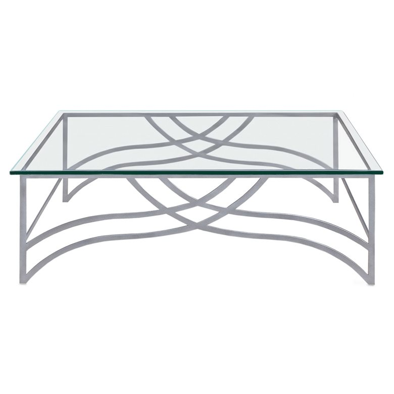 Napier metal coffee table. Made to order by Perceval Designs
